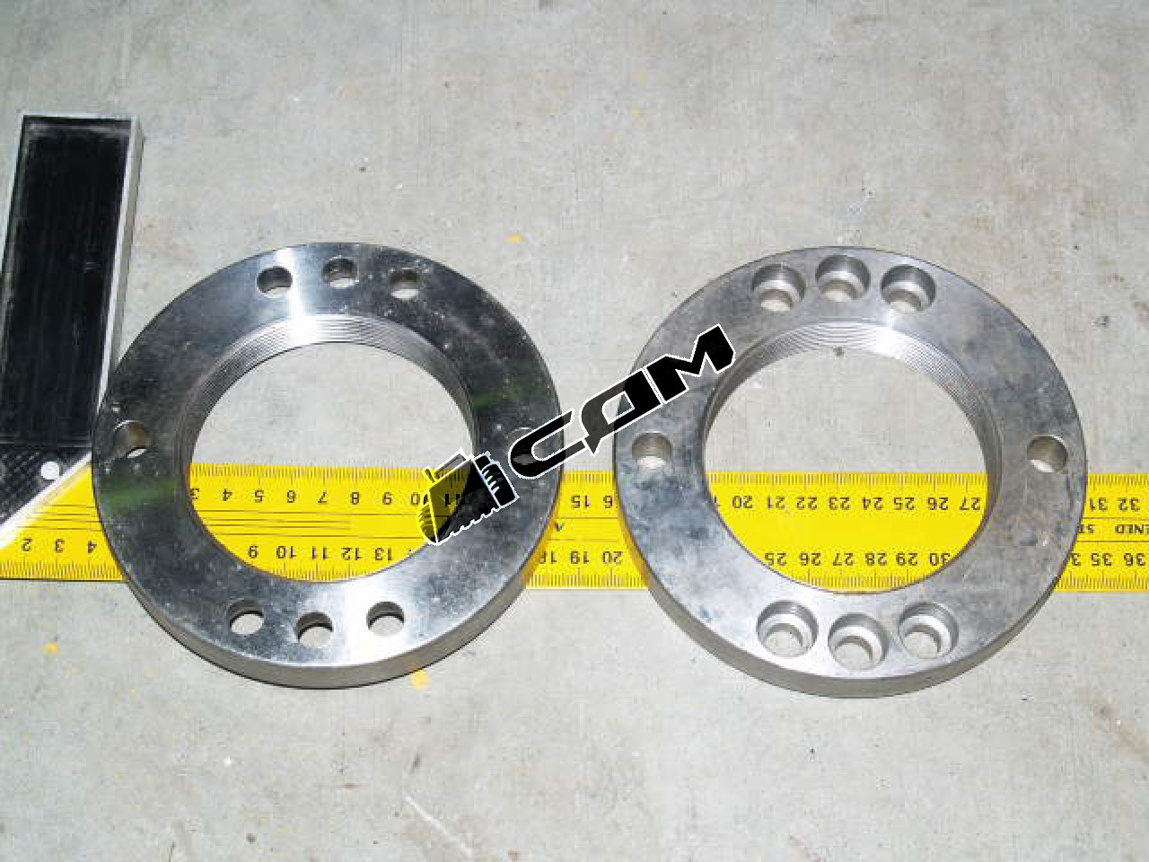 Гайка круглая бортового редуктора d=144 CDM843/855  404012