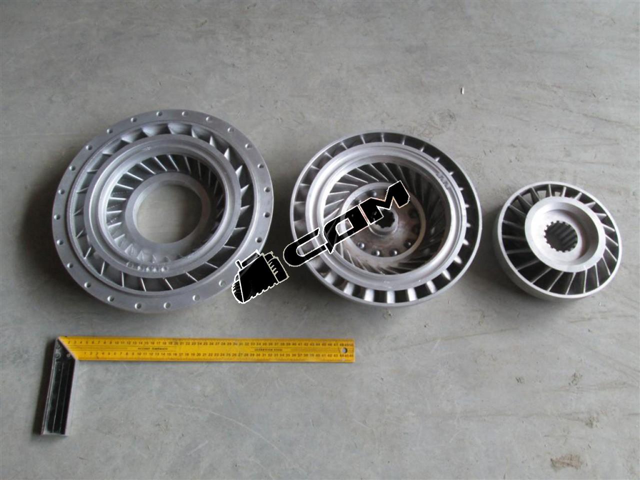 Гидромуфта ГТР CDM833  XJ315X-10000
